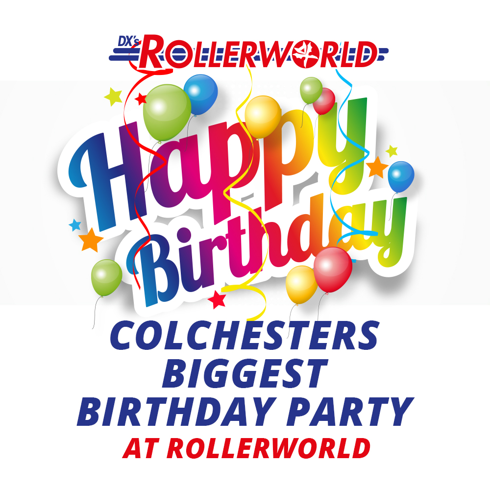 Colchesters Biggest Birthday Party At Rolerworld